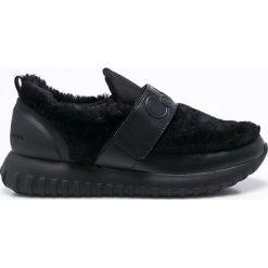 Calvin Klein Jeans - Buty Rachel Soft Nappa. Szare buty sportowe damskie marki Calvin Klein Jeans, z jeansu. Za 599,90 zł.