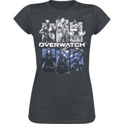 Bluzki damskie: Overwatch Bring Your Friends Koszulka damska odcienie ciemnoszarego