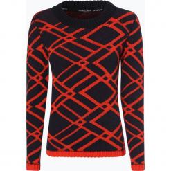 Marc Cain Sports - Sweter damski z dodatkiem alpaki, pomarańczowy. Brązowe swetry klasyczne damskie marki Marc Cain Sports, z dzianiny. Za 799,95 zł.