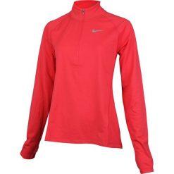 Bluzy sportowe damskie: Nike Bluza damska  NK TOP Core HZ MID czerwony r. L (854945 653)