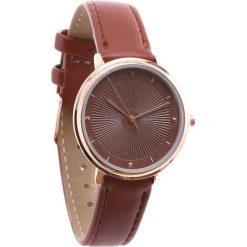 Brązowy Zegarek Little Grain. Brązowe zegarki damskie Born2be. Za 24,99 zł.