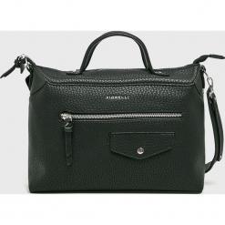 Fiorelli - Torebka. Czarne torebki klasyczne damskie marki Fiorelli, w paski, z materiału, średnie. Za 299,90 zł.