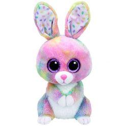 Przytulanki i maskotki: TY Maskotka Beanie Boos Bubby – Kolorowy Zajączek, 24 Cm