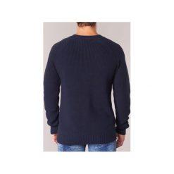 Swetry G-Star Raw  JAYVI KNIT. Niebieskie swetry klasyczne męskie marki Adidas, m. Za 319,20 zł.