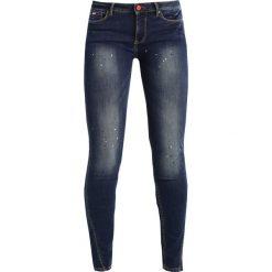 Rurki damskie: H.I.S AMBER Jeans Skinny Fit premium dark blue wash
