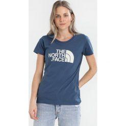 The North Face EASY Tshirt z nadrukiem dunkelblau/weiss/weiss. Różowe topy sportowe damskie marki The North Face, m, z nadrukiem, z bawełny. Za 129,00 zł.