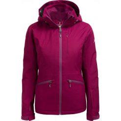 Kurtka narciarska damska KUDN604 - FIOLET PURPUROWY - Outhorn. Brązowe kurtki damskie zimowe marki QUECHUA, m, z materiału. W wyprzedaży za 209,99 zł.