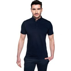 Koszulki polo: koszulka polo serra granatowy 0001