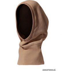 Czapki zimowe damskie: czapka KOMINIARKO-KAPTUR camel