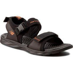 Sandały NEW BALANCE - M2067BR Brązowy. Brązowe sandały męskie skórzane New Balance. W wyprzedaży za 169,00 zł.