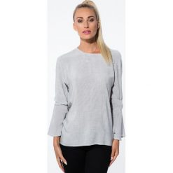 Koszule damskie: Czarna Koszula w Paski 21106