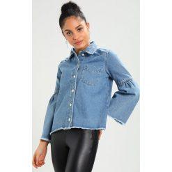 Koszule wiązane damskie: NORR THERESA  Koszula blue denim
