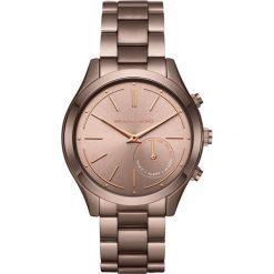 Biżuteria i zegarki damskie: Michael Kors Access SLIM RUNWAY Zegarek brown