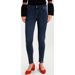 2ndOne PILL Jeansy Slim Fit smoke blue. Niebieskie jeansy damskie marki 2ndOne, z bawełny. W wyprzedaży za 203,40 zł.