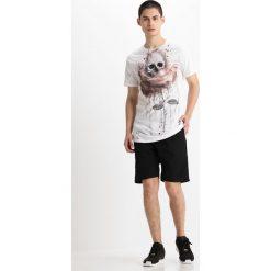 T-shirty męskie z nadrukiem: Religion ROSE PAINTING TEE Tshirt z nadrukiem white