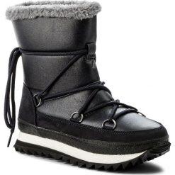 Śniegowce JENNY FAIRY - LS4331-02 Granatowy. Niebieskie buty zimowe damskie Jenny Fairy, z materiału. Za 169,99 zł.