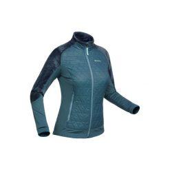 Kurtka polarowa SH900 X-WARM. Niebieskie kurtki sportowe męskie QUECHUA, m, z polaru. Za 169,99 zł.
