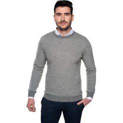 Sweter granby półgolf szary. Szare swetry klasyczne męskie Recman, na zimę, l, z jeansu, z golfem. Za 29,99 zł.