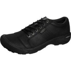 Keen AUSTIN Obuwie hikingowe black. Czarne buty sportowe męskie marki Keen, z materiału, outdoorowe. Za 459,00 zł.