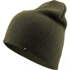Czapka męska CAM606 - khaki melanż - Outhorn. Brązowe czapki zimowe męskie Outhorn. Za 24,99 zł.