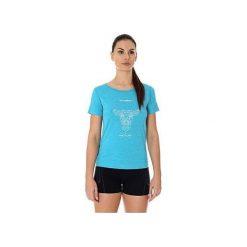 Bluzki asymetryczne: Brubeck Koszulka damska outdoor wool niebieska r. S (SS12720)