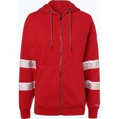 Tommy Jeans - Damska bluza rozpinana – Samba, czerwony. Szare bluzy rozpinane damskie marki Tommy Jeans, l, z dzianiny, z podwyższonym stanem, dopasowane. Za 299,95 zł.