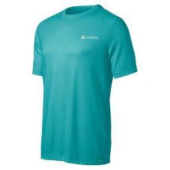 Odlo Koszulka męska S/S Crew Neck GEORGE niebieska  r. XL (200842). Niebieskie koszulki sportowe męskie marki Odlo, m. Za 107,61 zł.
