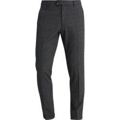Sisley SLIM FIT Spodnie garniturowe anthrazit. Czarne rurki męskie marki Sisley, l. Za 399,00 zł.