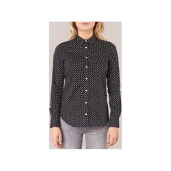 Koszule Gant  STRETCH BROADCLOTHE DOT PRINT. Czarne koszule nocne i halki marki GANT. Za 370,30 zł.