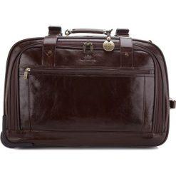 Torba podróżna 21-3-164-4. Brązowe torby podróżne Wittchen, w paski, duże. Za 2899,00 zł.