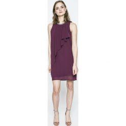 Vero Moda - Sukienka. Szare sukienki mini marki Vero Moda, na co dzień, m, z poliesteru, casualowe, proste. W wyprzedaży za 119,90 zł.