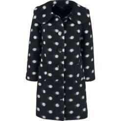 Płaszcze damskie pastelowe: Hell Bunny Colette Coat Płaszcz damski czarny
