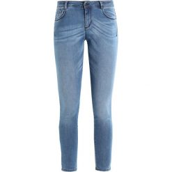Sisley 5 POCKET SHAPING Jeans Skinny Fit medium blue. Niebieskie jeansy damskie relaxed fit Sisley. Za 259,00 zł.