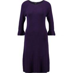 Sukienki: Dorothy Perkins FLUTE SLEEVE SHIFT  Sukienka dzianinowa purple