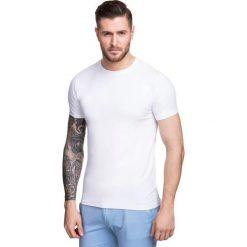 T-shirt NICODEMO TSBS000006. Białe t-shirty męskie Giacomo Conti, m, z bawełny. Za 79,00 zł.