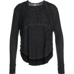 Free People ZENITH  Bluzka z długim rękawem black. Czarne topy sportowe damskie Free People, s, z materiału, sportowe, z długim rękawem. W wyprzedaży za 215,20 zł.