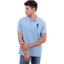 Koszulki polo: Koszulka polo w kolorze błękitnym