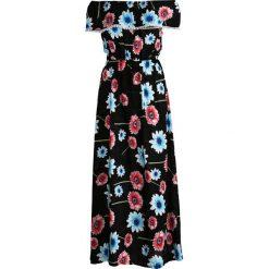 Sukienki: Czarna Sukienka Helianthus
