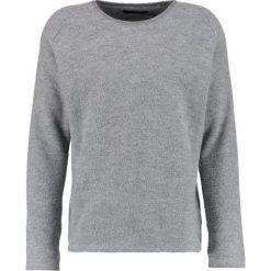 Kardigany męskie: Suit IMANUEL Sweter medium grey melange