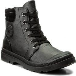 Botki BIG STAR - Y274024 Black. Czarne buty zimowe damskie BIG STAR, z materiału, retro. Za 109,00 zł.