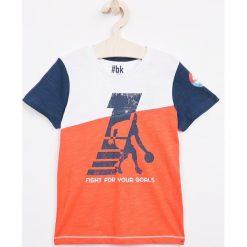 T-shirty chłopięce z nadrukiem: Blukids – T-shirt dziecięcy 98-128 cm
