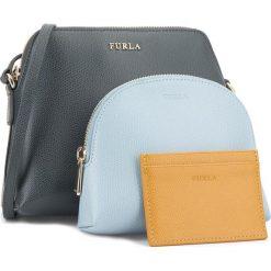Torebka FURLA - Boheme 978539 E EQ35 ARE Ardesia e/Firdaliso e/Ginestra e. Niebieskie torebki klasyczne damskie Furla, ze skóry. Za 875,00 zł.