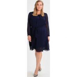 Sukienki hiszpanki: Dorothy Perkins Curve PLEAT DRESS Sukienka letnia navy