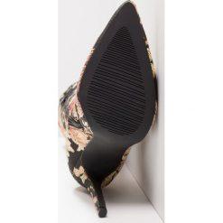BEBO JAYNE Kozaki na obcasie black. Czarne buty zimowe damskie BEBO, z materiału, na obcasie. Za 239,00 zł.