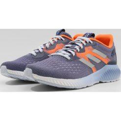 Buty damskie: adidas Performance AEROBOUNCE Obuwie do biegania treningowe raw indigo/silver metallic/hiresolution orange