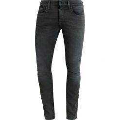 GStar 3301 DECONSTRUCTED SKINNY COJ Jeans Skinny Fit inza stretch denim od dark aged. Szare rurki męskie G-Star, z bawełny. Za 649,00 zł.