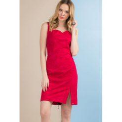 Sukienki: Kobieca sukienka bez rękawów