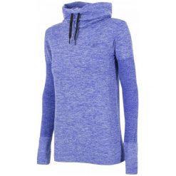 4F Damska Bluza H4Z17 bldf001 Niebieski Melanż L-Xl. Niebieskie bluzy sportowe damskie marki 4f, l, melanż, z elastanu. W wyprzedaży za 105,00 zł.