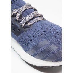 Adidas Performance ULTRABOOST UNCAGED  Obuwie do biegania treningowe noble indigo/ash pearl. Niebieskie buty sportowe chłopięce adidas Performance, z materiału. W wyprzedaży za 524,25 zł.