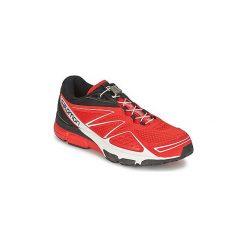 Buty do biegania Salomon  X-SCREAM 3D. Czerwone buty do biegania męskie marki Salomon. Za 317,40 zł.